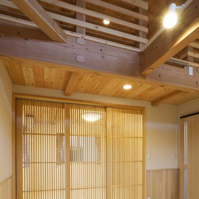 施工事例「当社自慢の住宅「天然無垢の家」癒しの空間です」のサムネイル画像